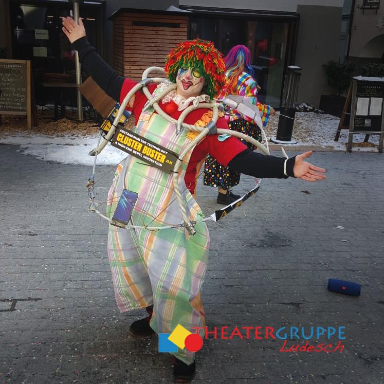 CLUSTER-Buster Sicherheitsabstand